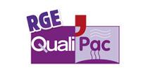 Plombier-Chauffagiste à Caudry - Logo RGE Qualipac